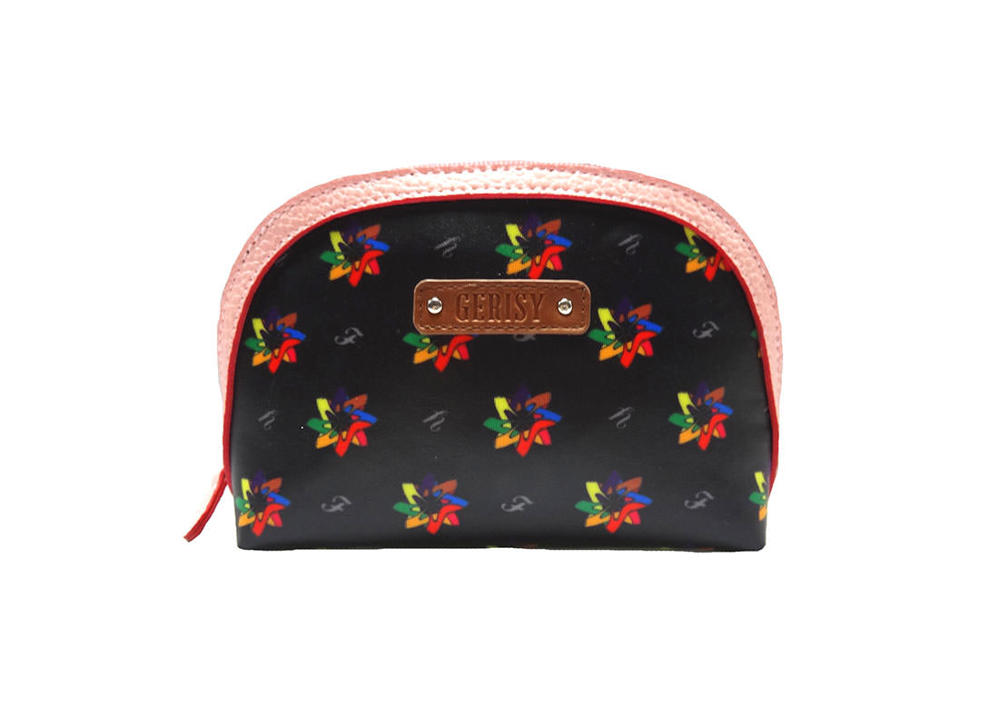 Kaleidoscopic Pattern Small Pouch for Ladies