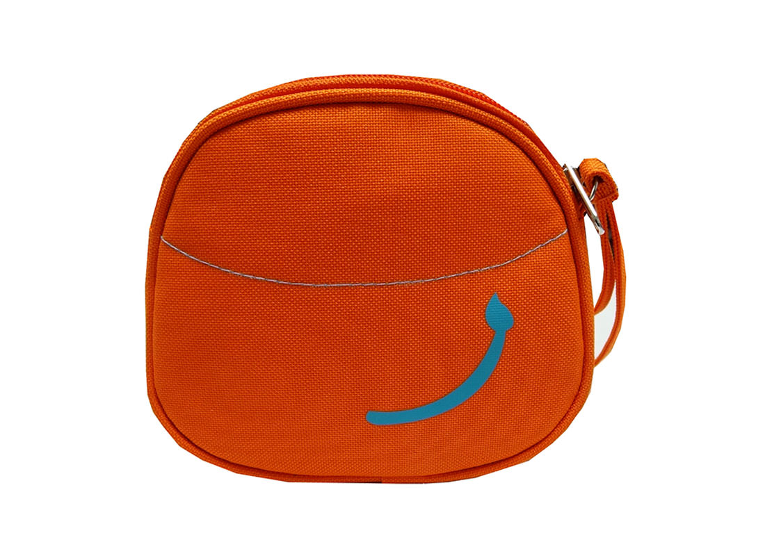 Tiger Pouch for Children Back