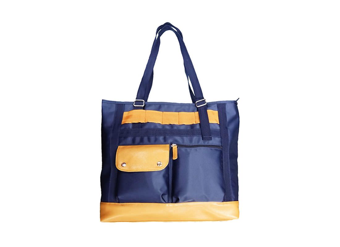 Men Tote Bag in Blue Color