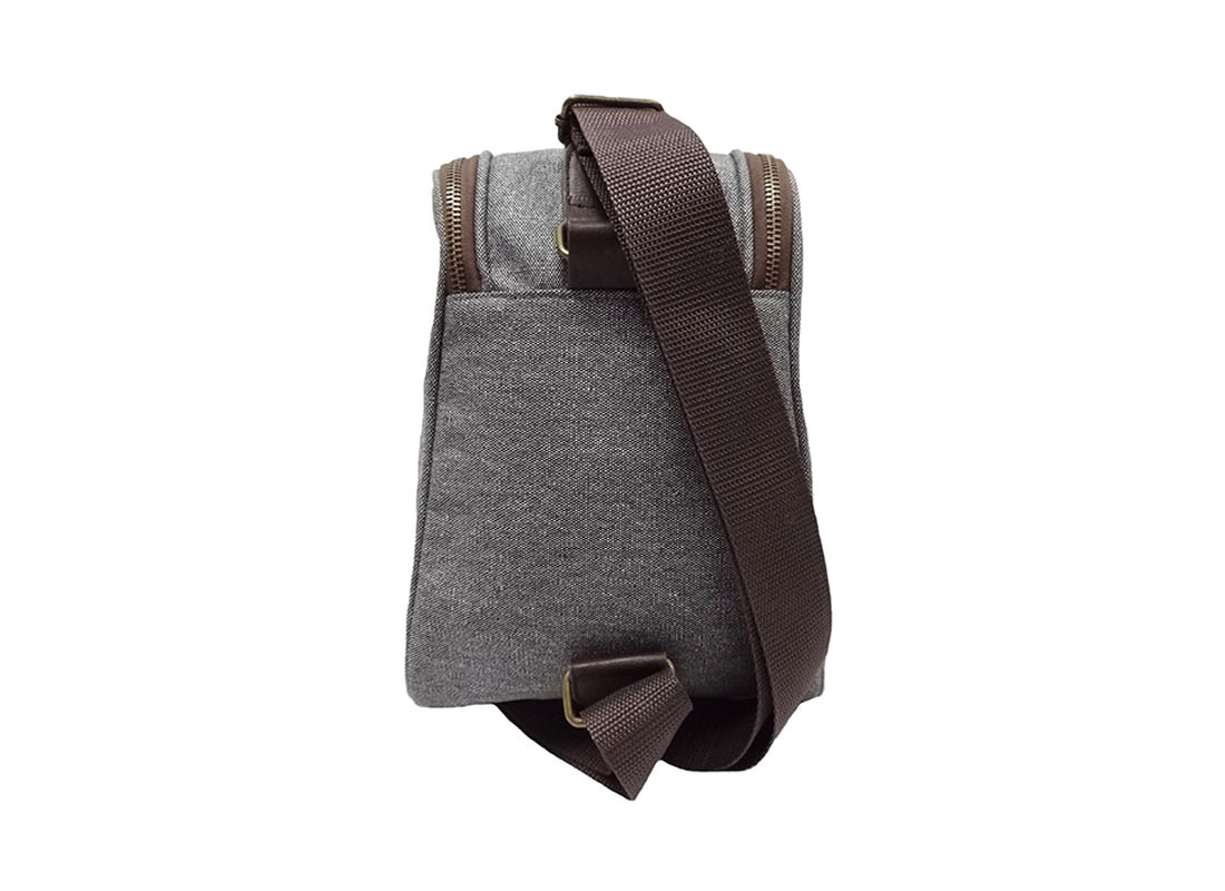 canvas sling bag for men back