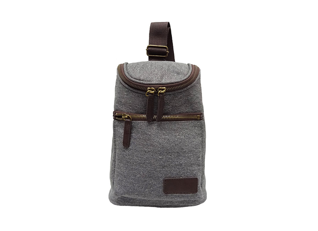 canvas sling bag for men