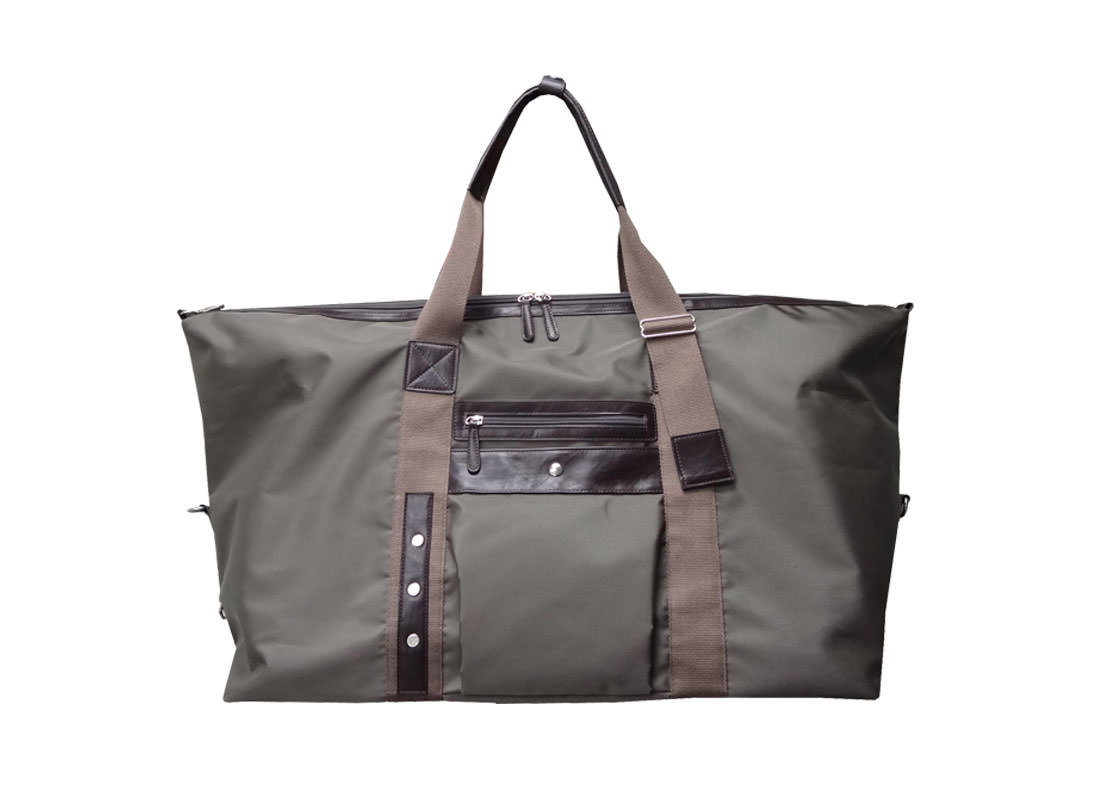 Large Military Green Duffel Bag for Men Open