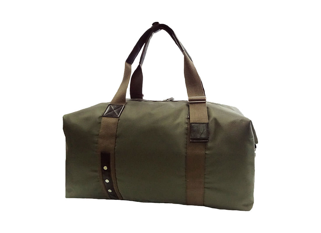 Large Military Green Duffel Bag for Men Side