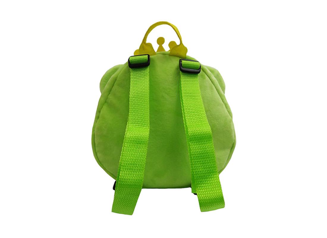 Prince Frog Backpack for Children Back