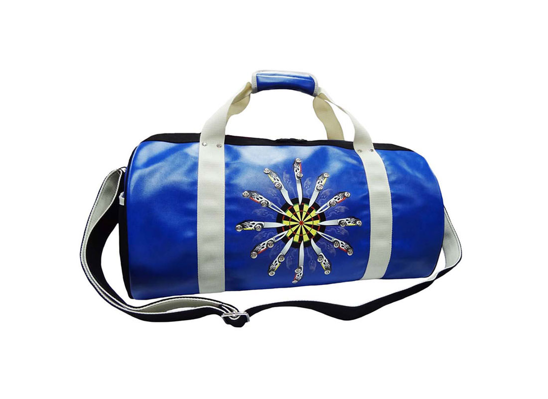 Large Duffel Bag with car-knife Printing