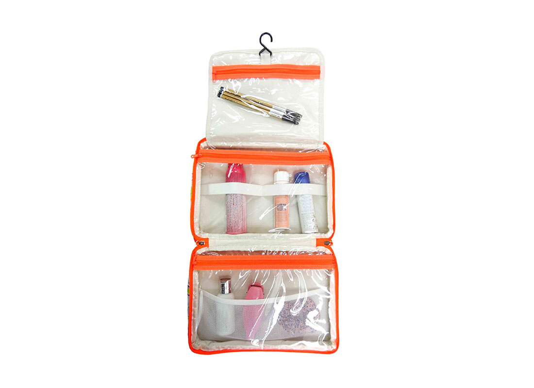 Travel Hanging Toiletry Bag Open