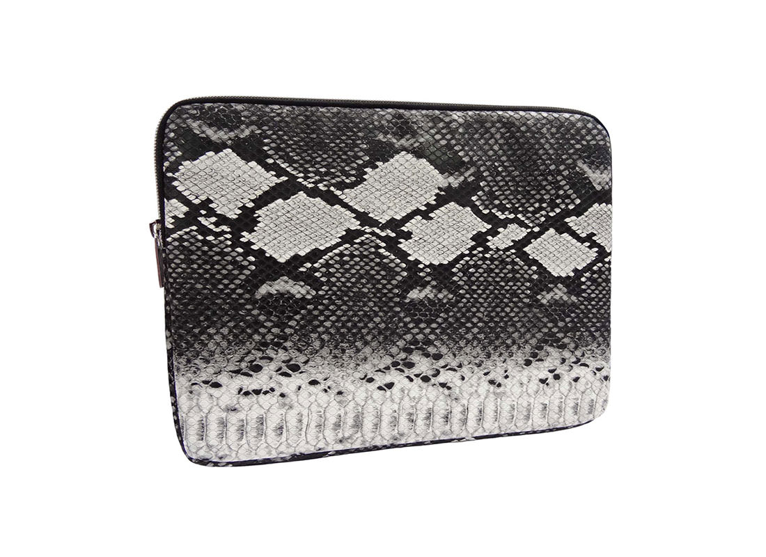 iPad Pouch with snake skin pattern