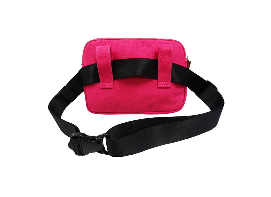 Cotton Waist Bag for Women Back