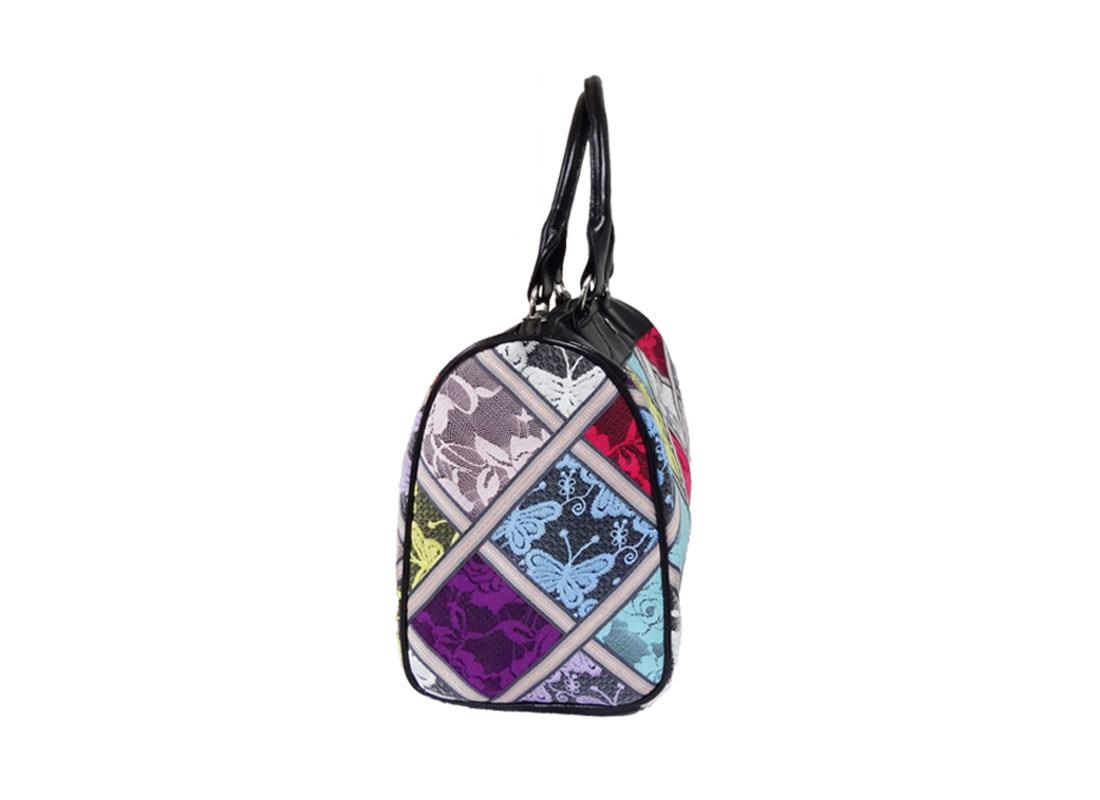 Lace Boston Bag Side