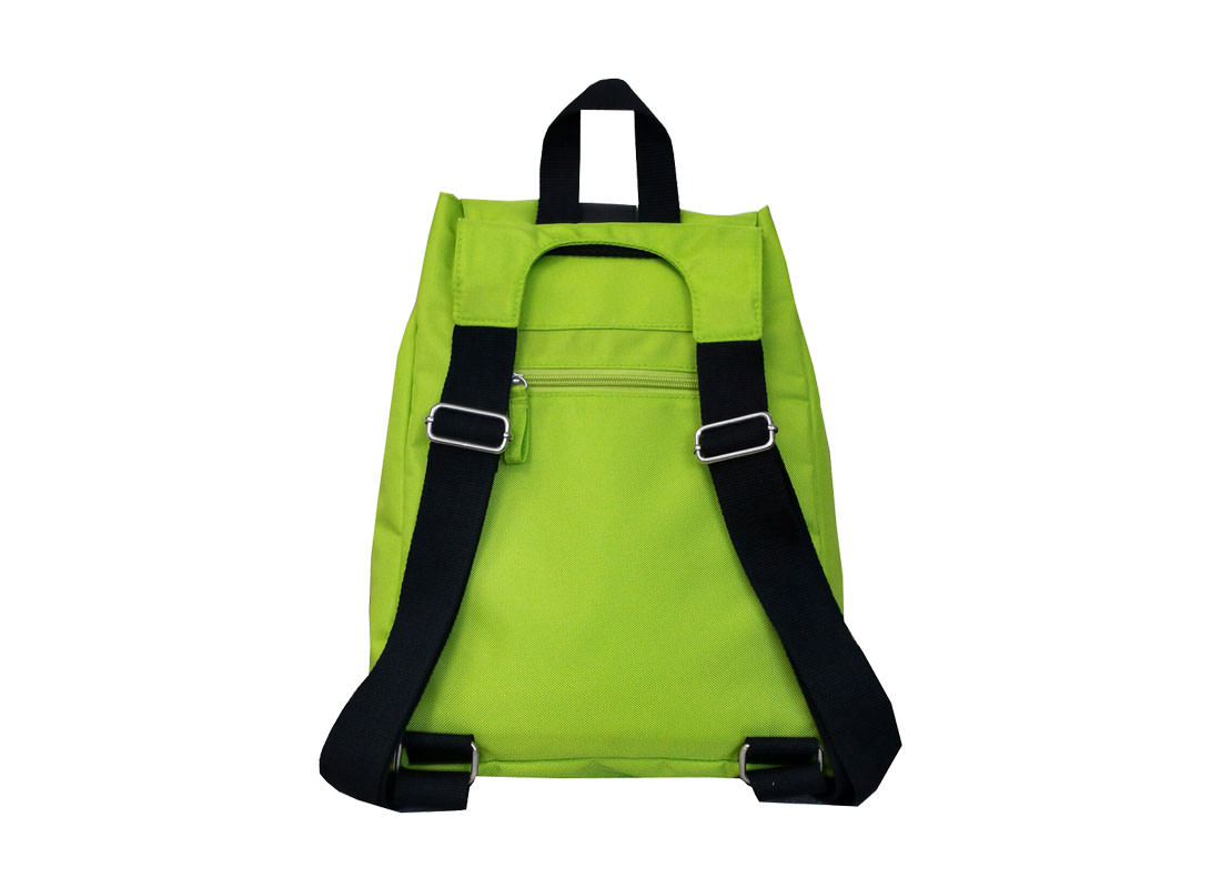 Green Backpack for Casual Use Back