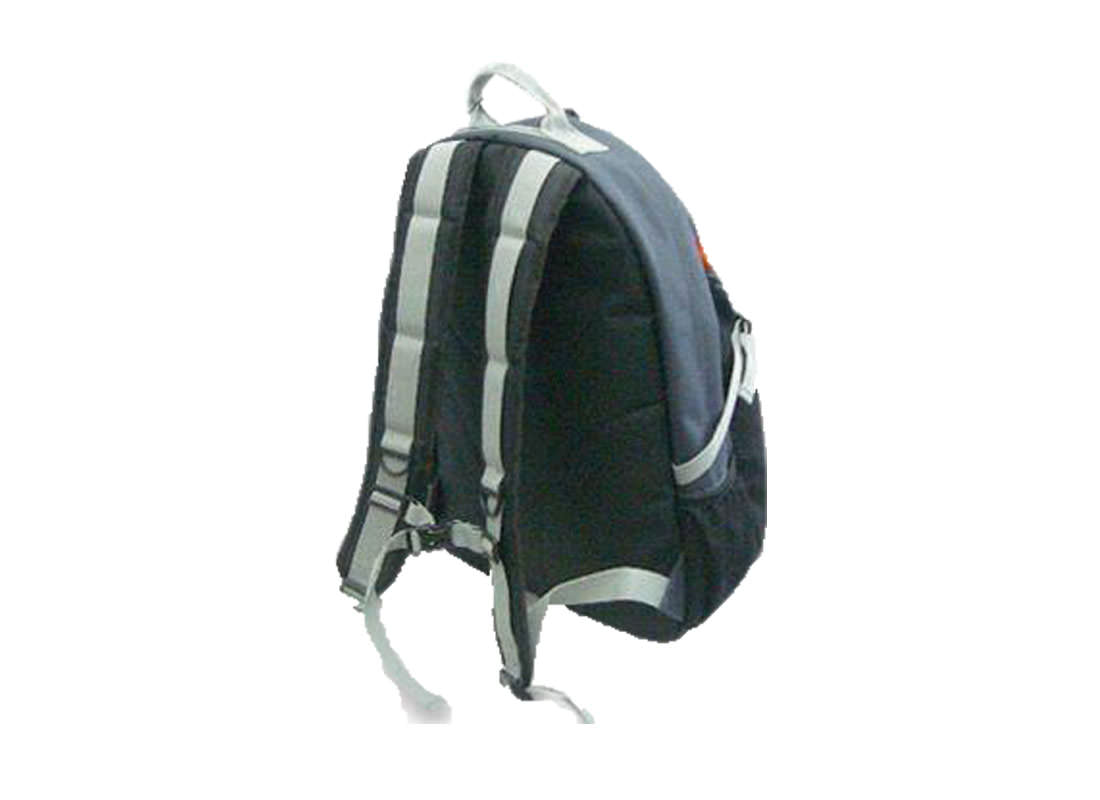Casual Backpack in Black back
