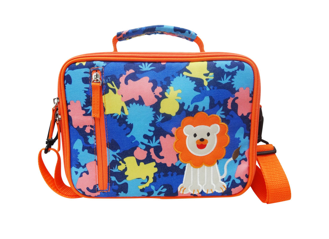 Children Lunch Bag with camo pattern