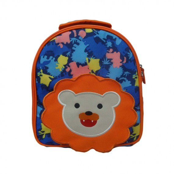 Camo Lunch Bag with Lion Front Pocket