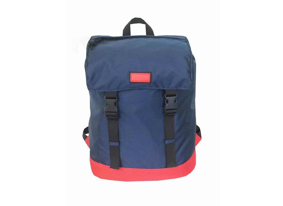 Drawstring Closure backpack in dark blue