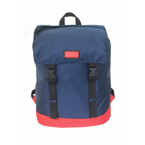 Drawstring Closure backpack in dark blue