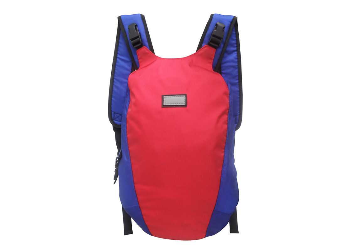 Sporty Backpack in Blue & Red