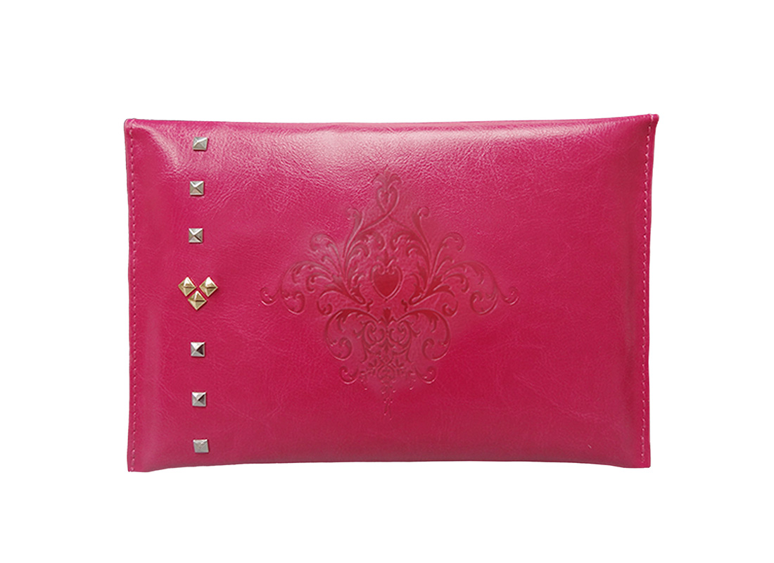 Tablet Pouch with embossed graphic
