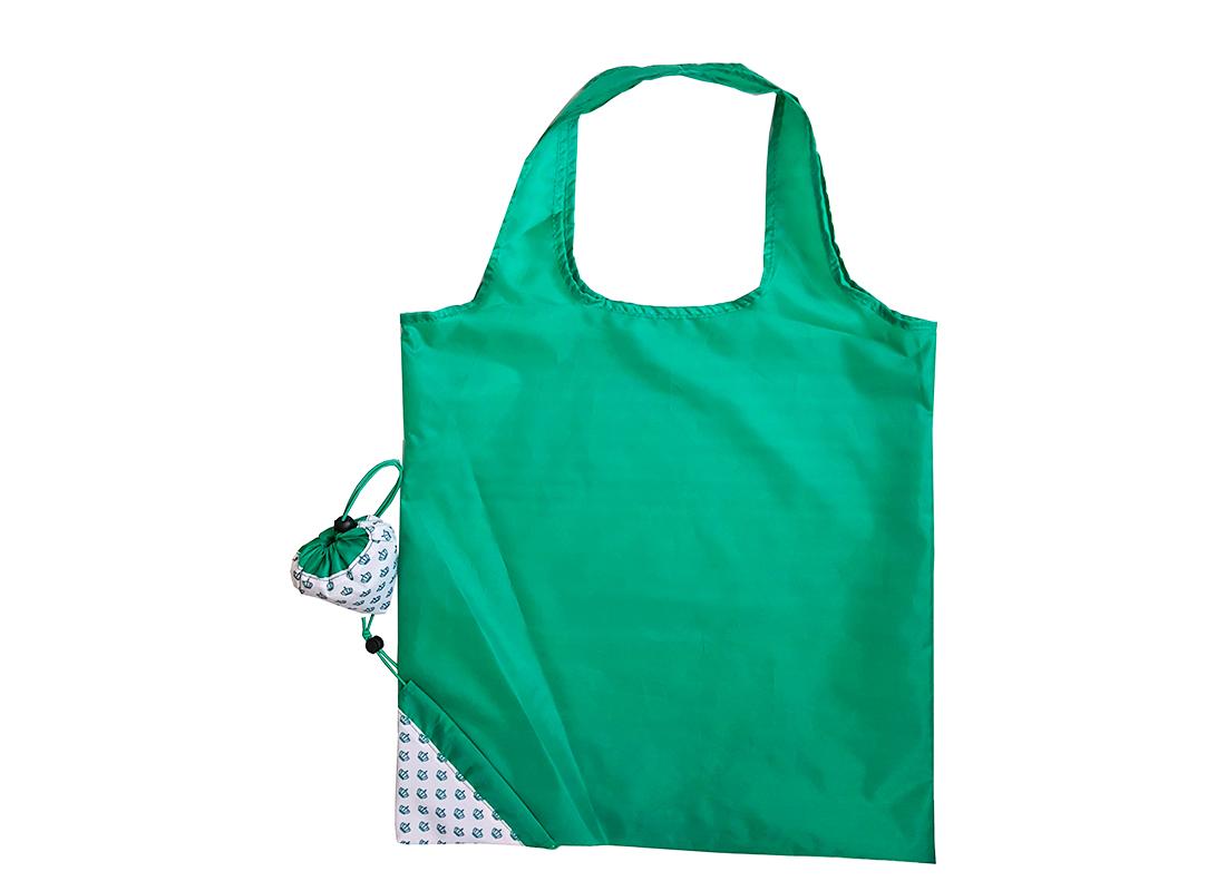 Folding Shopping bag in Green