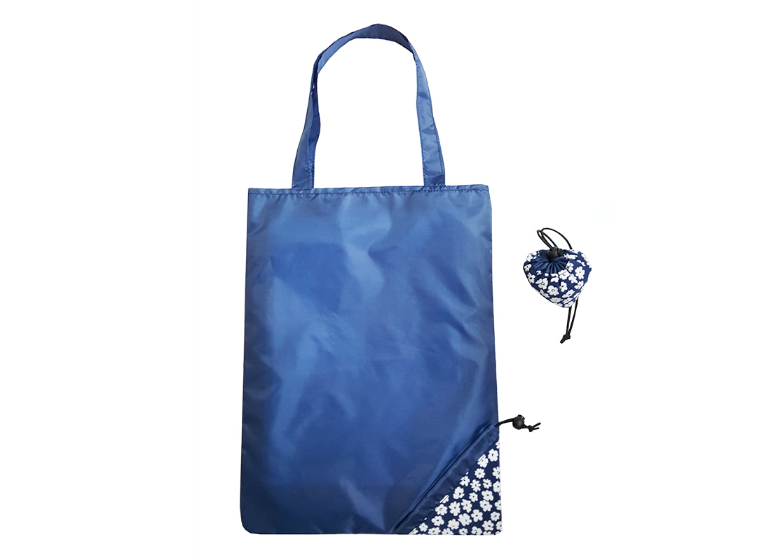 Reusable Foldable Shopping bag in Blue