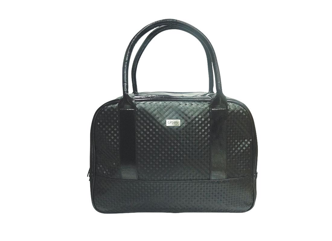 Women Boston Bag in Black