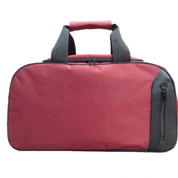 Travel Boston Bag in Red