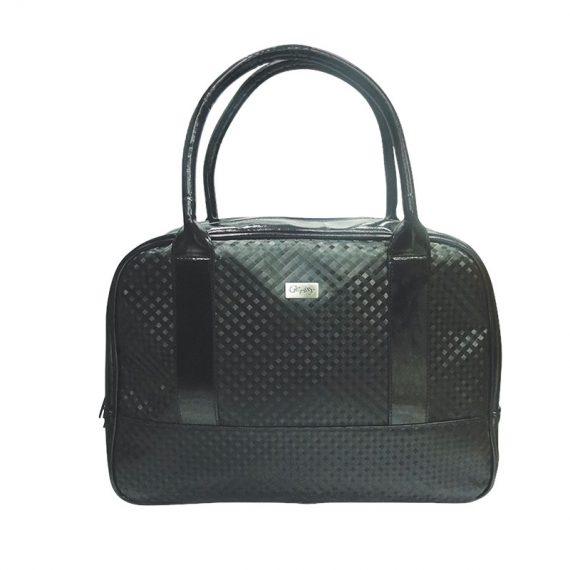 Women Boston Bag in Black