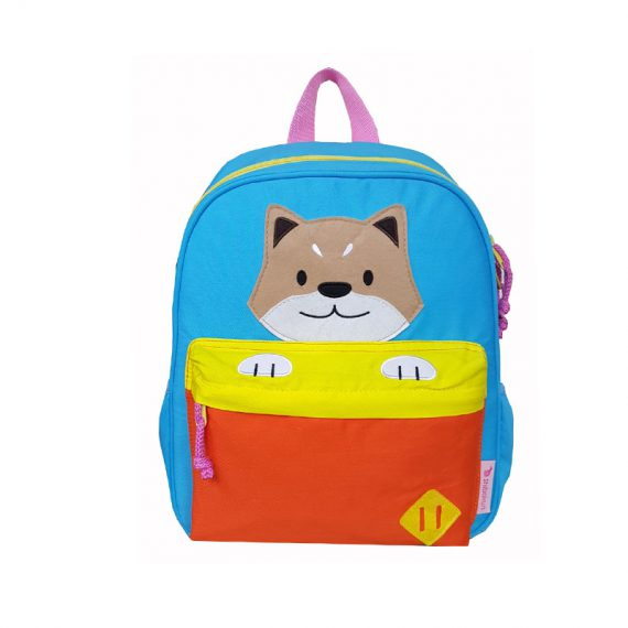 Children Backpack with Shiba patch