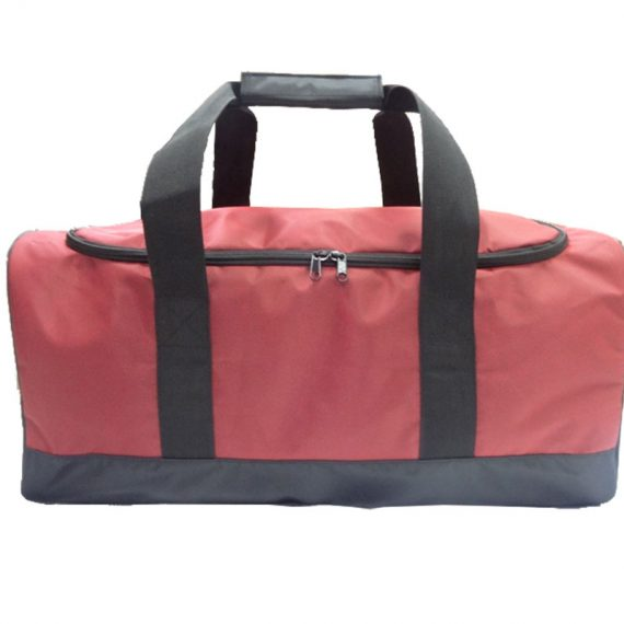 Large Travel Duffel Bag in Red