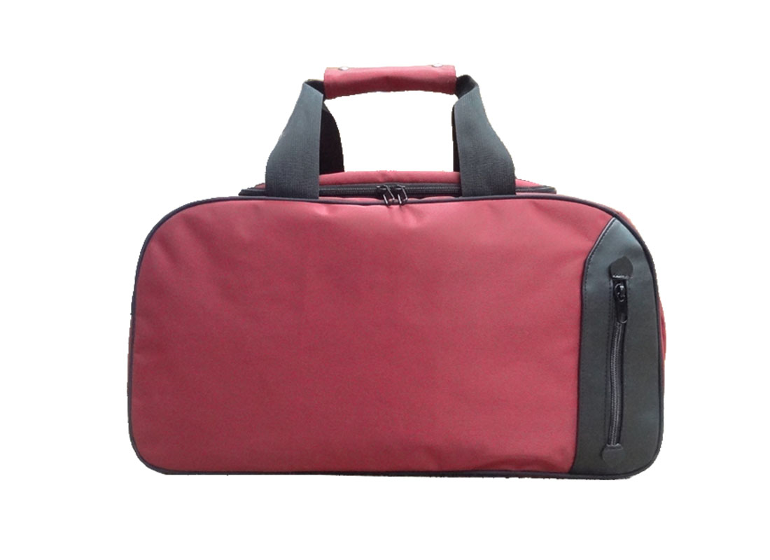Travel Boston Bag in Red