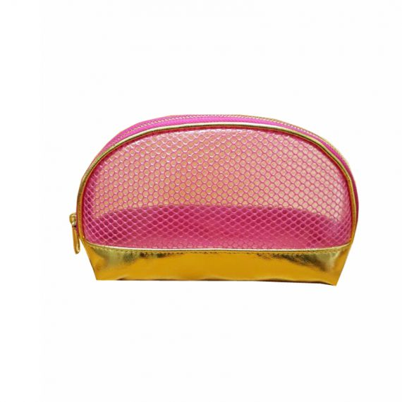 Shell shape makeup pouch