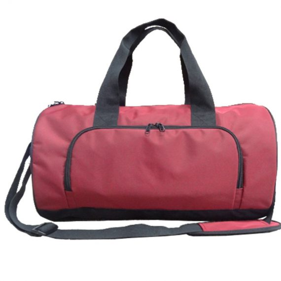 Duffel Bag for Travel in Red