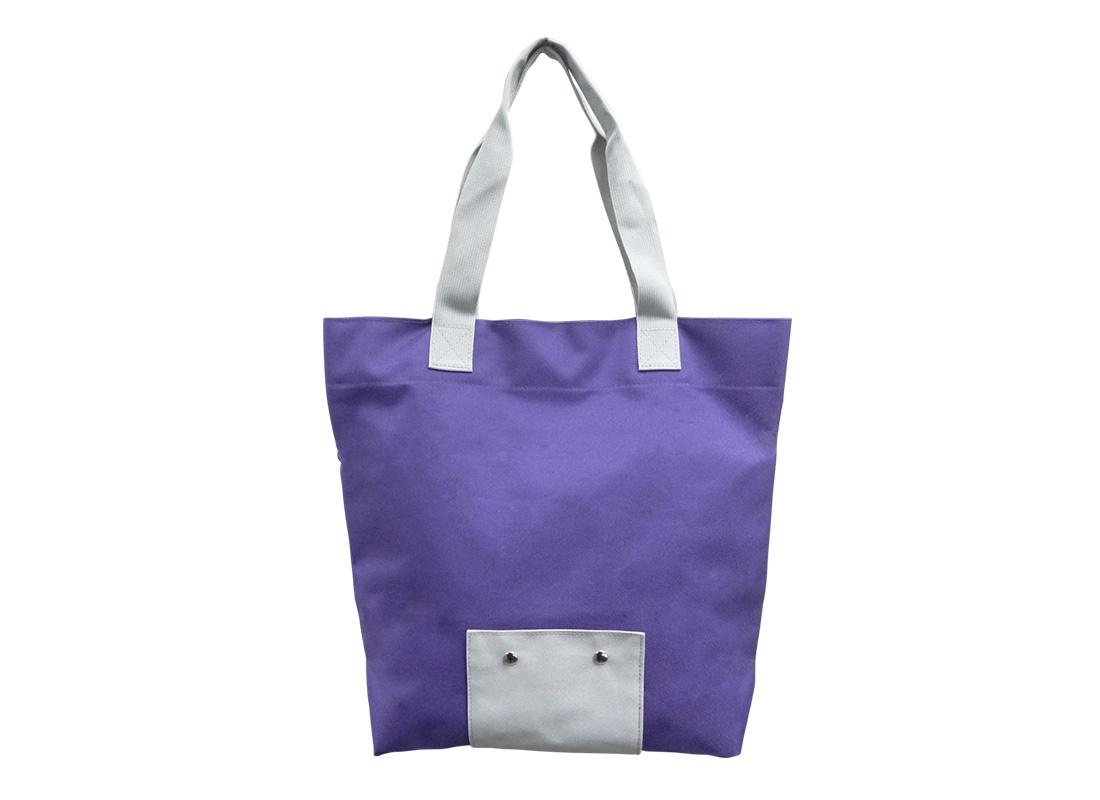 Foldable Bag in Purple