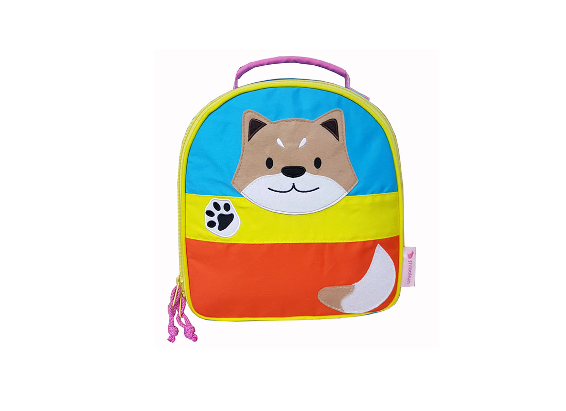 Lunch Bag with Shiba patch