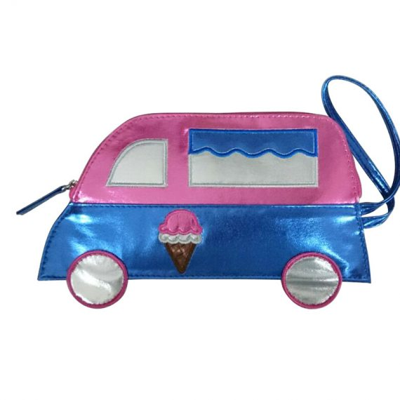 small pouch for coin in car shape