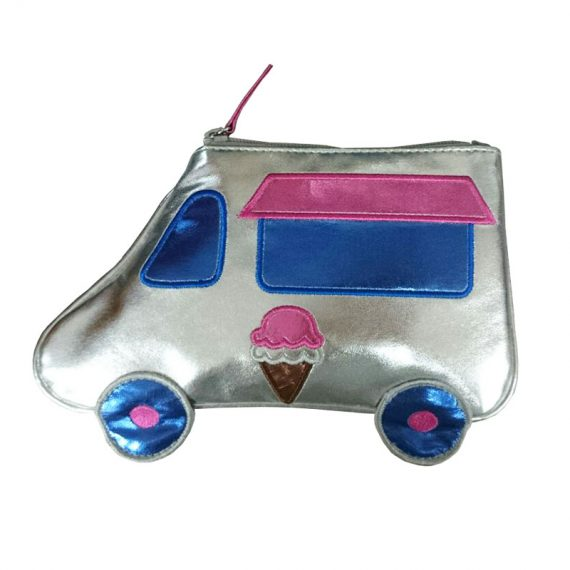 small zipper pouch in car shape