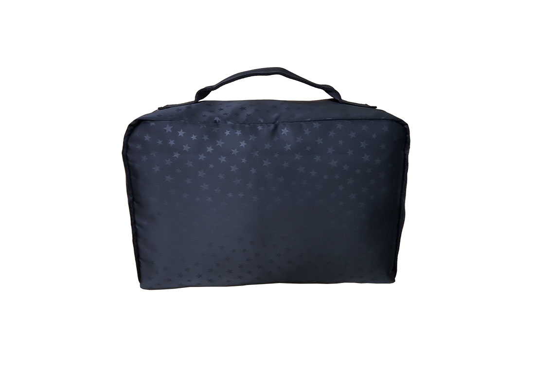 Small Travel kit bag with mesh front back