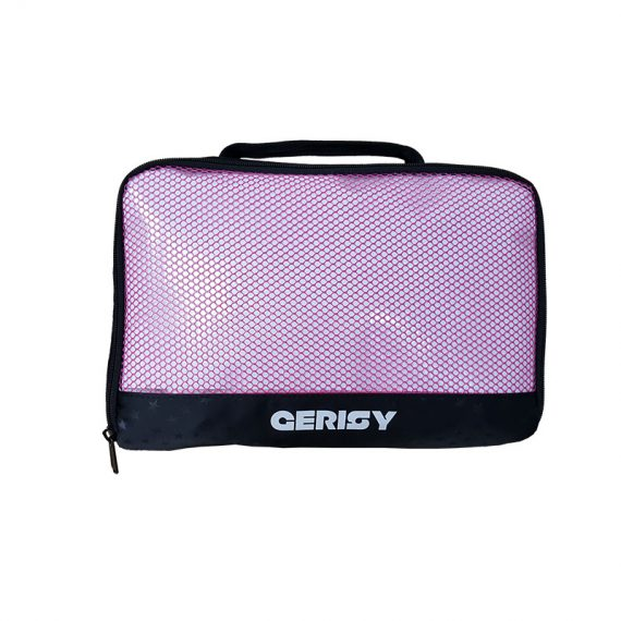 Small Travel kit Bag with mesh front