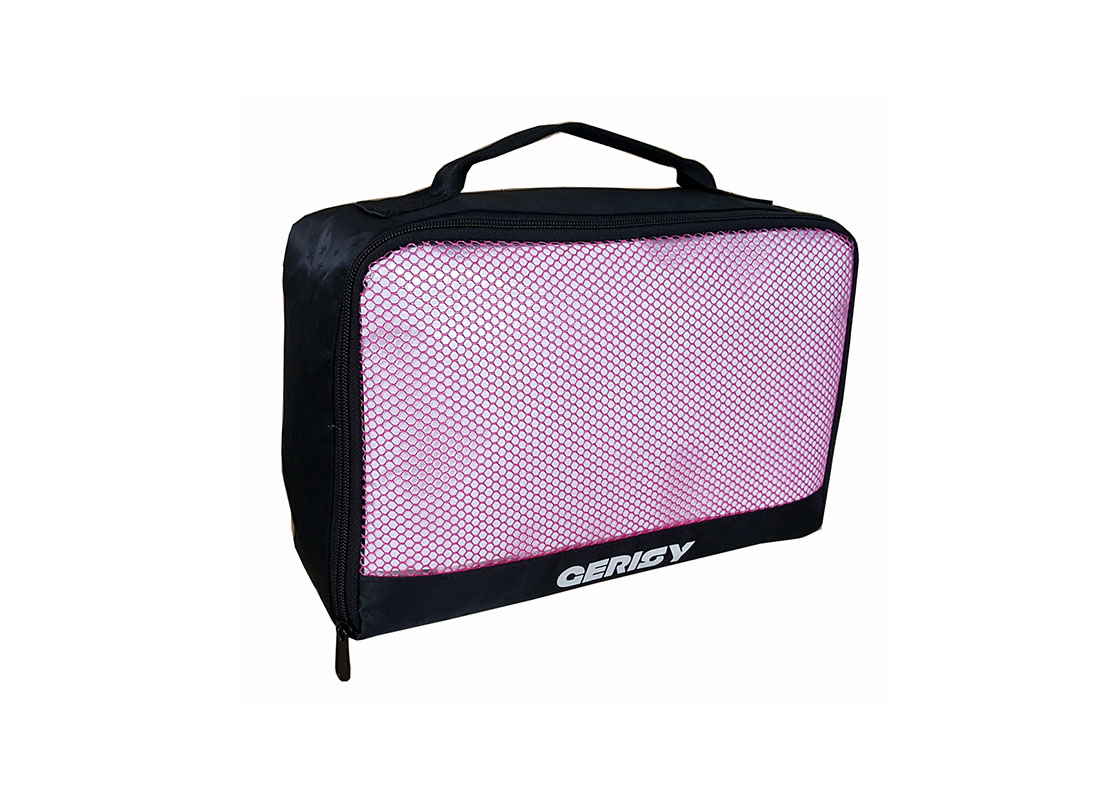 Small Travel kits bag with mesh front L side