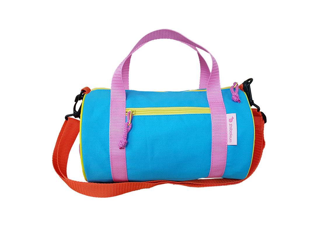 Children Duffel Bag with Shiba patch Back
