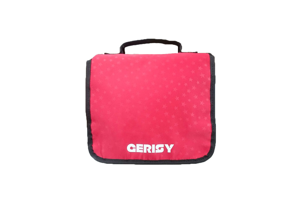 Travel Cosmetic Bag in red