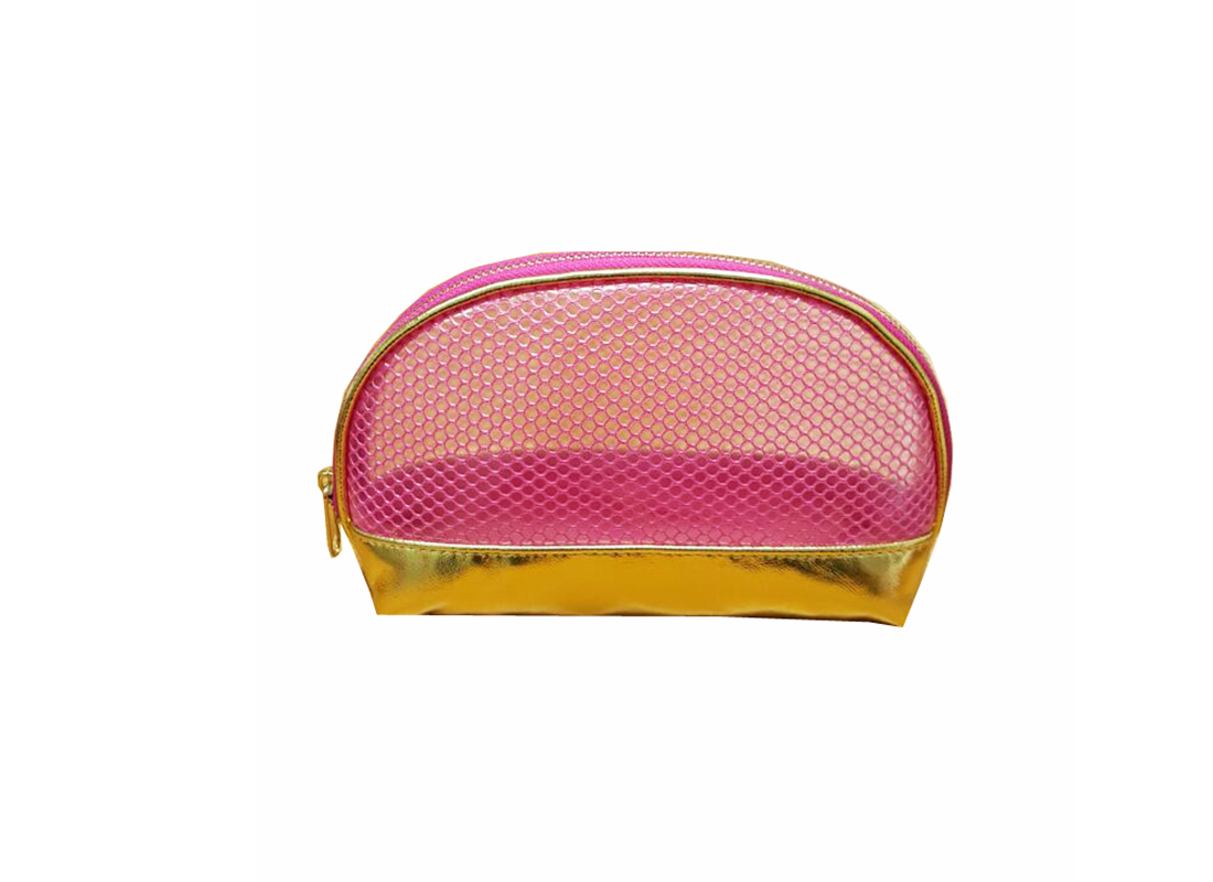 Shell shape makeup pouch