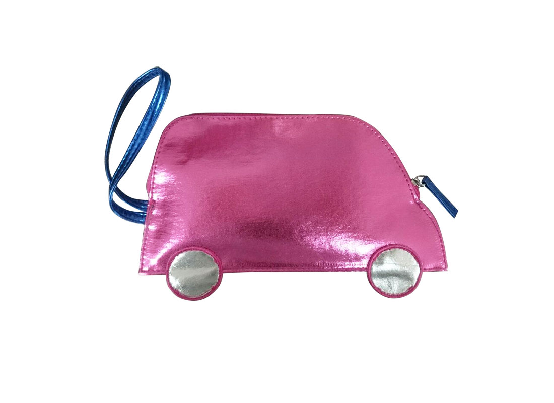 small pouch for coin in car shape back