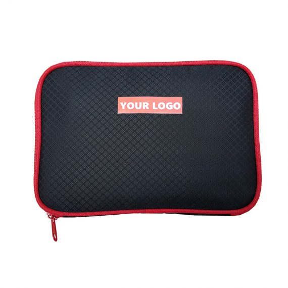 Accessories pouch in black