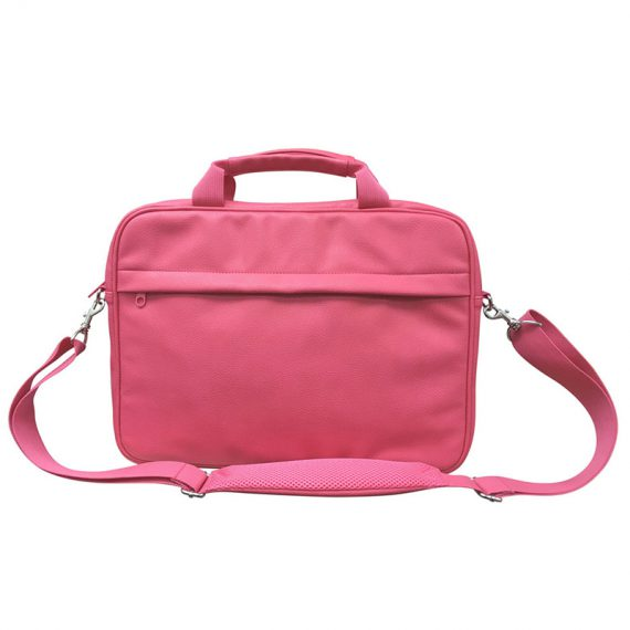 Classic Laptop Bag in pink for women