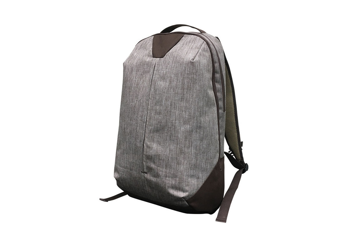 Backpack for work in brown R side