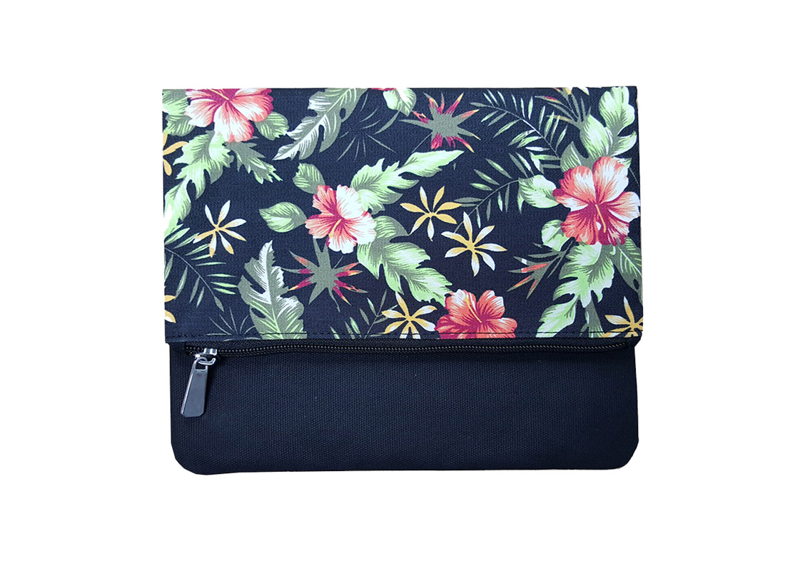 Floral print Cotton Clutch