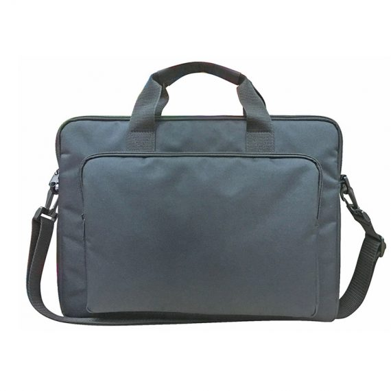 classic laptop bag in black for 15""