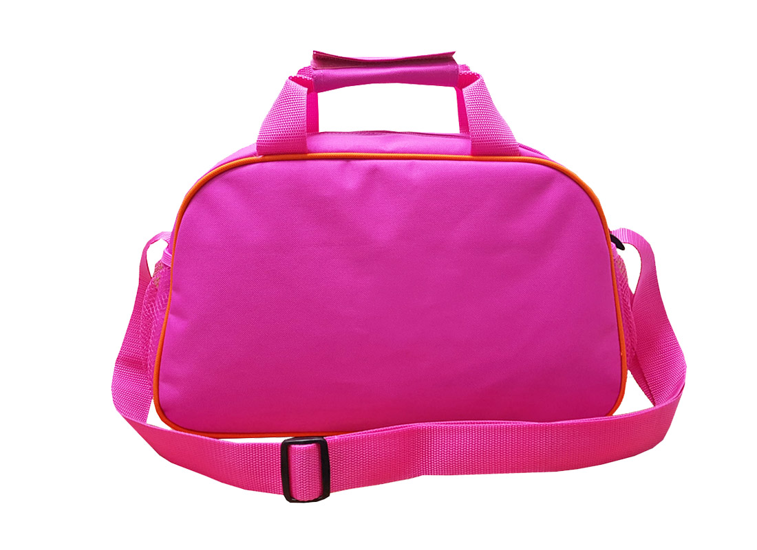 Back of Girl Shoulder Bag in pink