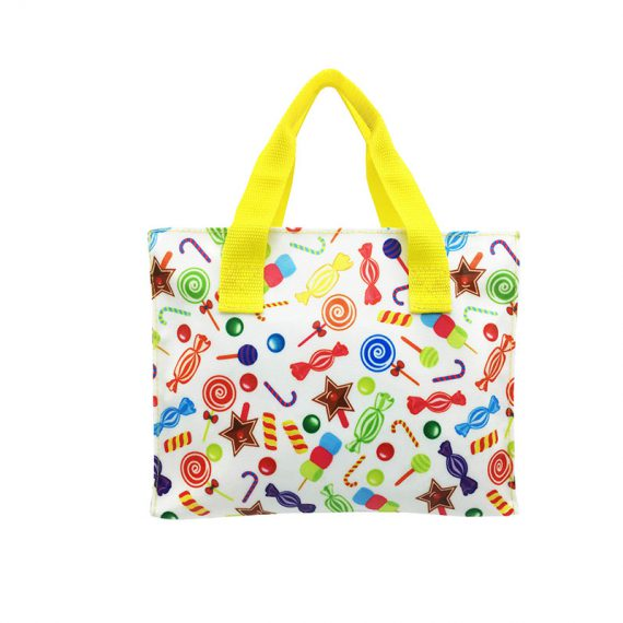 Square shape tote bag