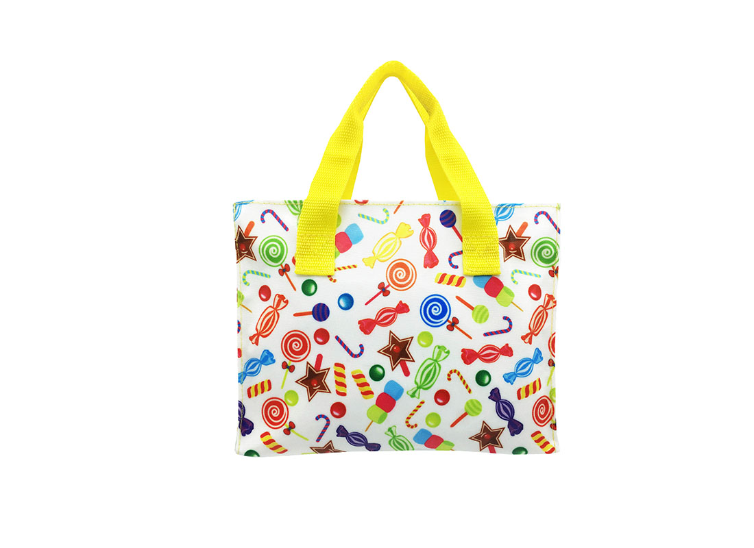 Square shape tote bag